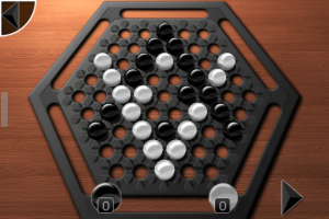Copie décran 22 300x200 Test de Abalone (2,69€) : Un beau jeu de société sur iPhone !