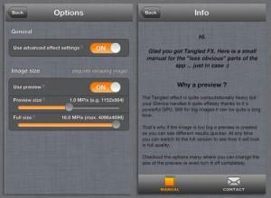 Copie décran 3 300x220 Test de Tangled Fx (1,79€) : Les logiciels de retouche sont ils tous indispensables ?