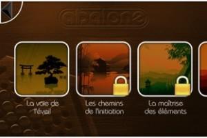 Copie décran 32 300x200 Test de Abalone (2,69€) : Un beau jeu de société sur iPhone !