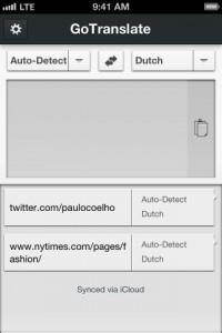 Copie décran 33 200x300 Test de GoTranslate (2,69€) : A new translator