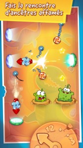 Cut the rop time travel 168x300 Le nouveau Cut The Rope : Time Travel (0,89€) est disponible sur lApp Store