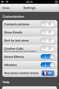 IMG 0998 L'application gratuite du Jour : ReachFast Contacts