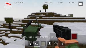 IMG 3442 300x169 Test de Block Fortress (1,79€) : Tower Défense, FPS et univers de Minecraft