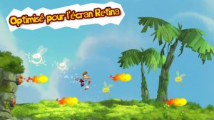 Rayman Jungle Run  300x168 Rayman Jungle Run (2,69€) : le succès au rendez vous !