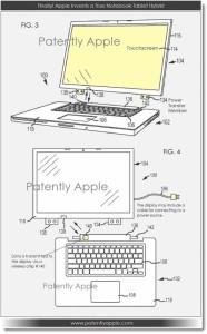 Tablette hybride 186x300 Apple : un brevet pour un hybride iPad   MacBook