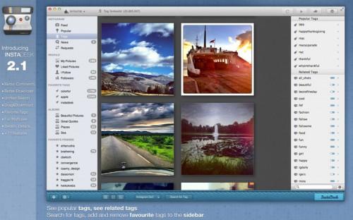 Test InstaDesk 3 500x312 App4Mac: Instadesk, votre compagnon Instagram (4,49€)