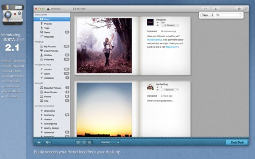 Test InstaDesk 5 500x312 App4Mac: Instadesk, votre compagnon Instagram (4,49€)