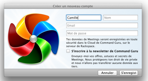 Test Meetings 1 500x275 App4Mac: avec Meetings, gérez toutes vos réunions (17,99€)