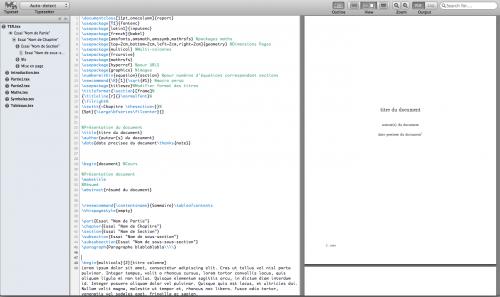 Test Texpad2 500x297 App4Mac: Texpad, le meilleur compagnon des adeptes du LaTeX (17,99€)
