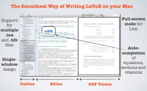 Test Texpad4 500x312 App4Mac: Texpad, le meilleur compagnon des adeptes du LaTeX (17,99€)