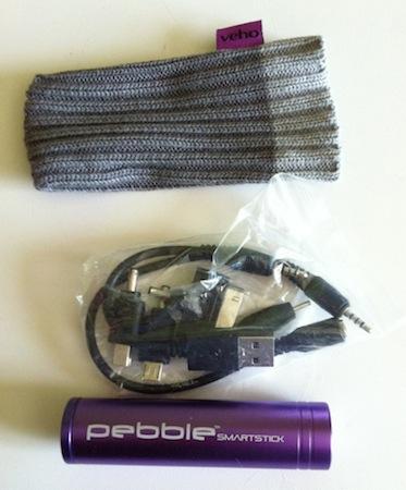 Test BatteriePeeble 002 Accessoire : Test du Chargeur durgence Veho Peeble SmartStick (21,49€)