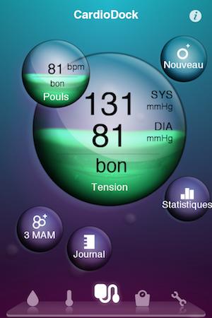 Test VitaDock 012 Test de VitaDock (gratuit) : lapp qui centralise les données de votre santé