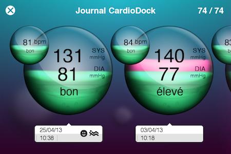 Test VitaDock 013 Test de VitaDock (gratuit) : lapp qui centralise les données de votre santé