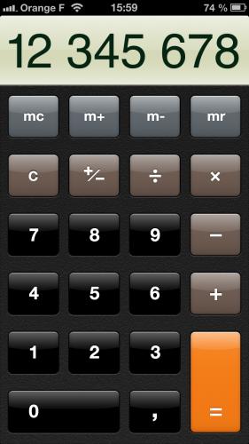 astuce ios calculatrice 2 281x500 Astuce iOS : mieux utiliser lapplication calculatrice