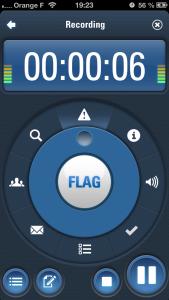 capture audio 2 169x300 Test de Capture Audio (2,69€) : le compagnon de vos réunions
