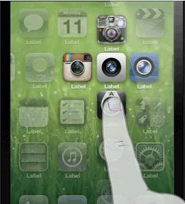 concept ios7 dossier 2 Concept iOS : un regroupement dapplications