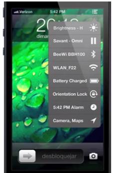concept ios liste Concept iOS : une liste déroulante pour un accès rapide