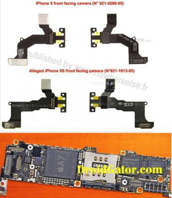 rumeur iPhone 5S carte mère caméra Les rumeurs de la semaine: Foxconn, iPhone 5S, iPhone low cost...