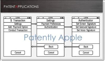 rumeur iWallet brevet Les rumeurs de la semaine: iPhone 5s, iPad 5, WWDC, Mac Pro...
