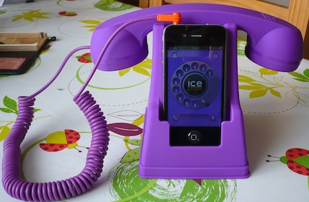 Ccrs IcePhone 002 Concours : IcePhone (35,99€), un support pour téléphoner avec fil à gagner