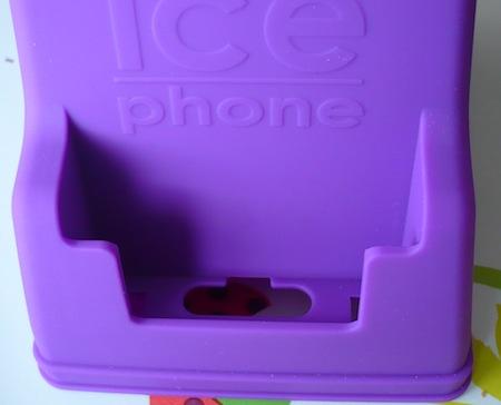 Ccrs IcePhone 008 Accessoire : IcePhone (35,99€), un support pour téléphoner avec fil