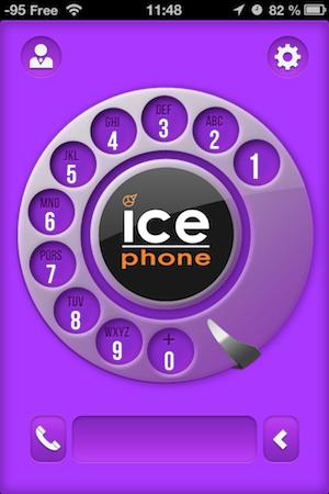Ccrs IcePhone 012 Accessoire : IcePhone (35,99€), un support pour téléphoner avec fil