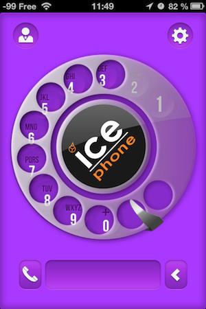 Ccrs IcePhone 016 Accessoire : IcePhone (35,99€), un support pour téléphoner avec fil