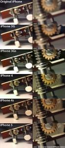 Comparaison photo iPhone 133x300 iPhone : les évolutions du capteur photo en images