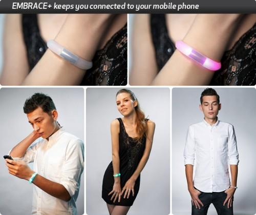 Embrace+ 1 500x419 Accessoire : EMBRACE+ (49$), un bracelet intelligent