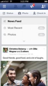 Facebook 6.1.1 168x300 Facebook passe la 6.1.1 avec quelques corrections et ajouts