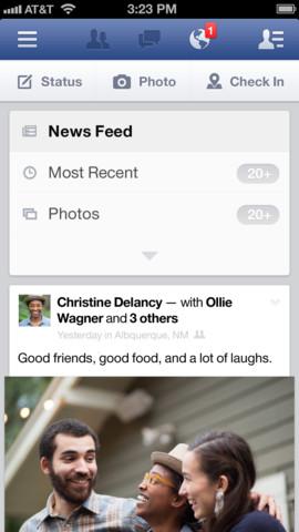 Facebook 6.1.1 Les hashtags rejoignent lapplication Facebook (gratuit) avec la version 6.4