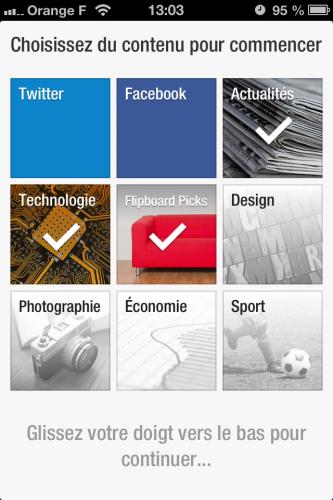 FlipBoard maj 1 333x500 FlipBoard se met à jour et facilite le partage dinformations