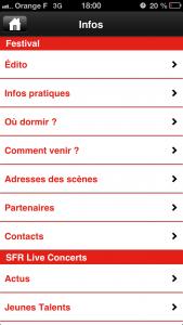 Franco 4 169x300 Application des Francofolies de La Rochelle (gratuit) pour préparer ses concerts