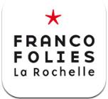 Franco logo Application des Francofolies de La Rochelle (gratuit) pour préparer ses concerts