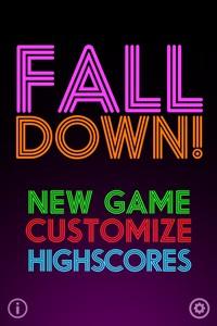 IMG 1223 L'application gratuite du Jour : FallDown! 2