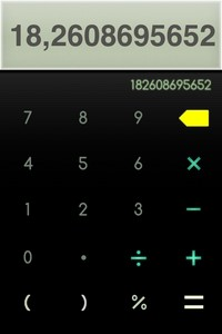 IMG 1396 Calzy   The Smart Calculator : Une jolie calculatrice... (0,89€)