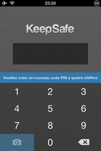 IMG 1434 L'application gratuite du Jour : Keepsafe