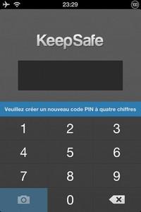 IMG 1434 L'application gratuite du Jour : Keepsafe