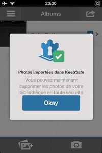 IMG 1438 L'application gratuite du Jour : Keepsafe