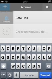 IMG 1441 L'application gratuite du Jour : Keepsafe