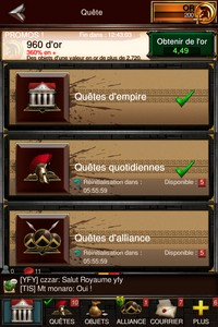 IMG 1934 L'application gratuite du Jour : Game Of War