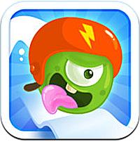 JellyRacingApp1 Test de Jelly Racing: funny race (1,79€) : Un jeu de course gourmand et coloré
