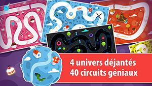 JellyRacingCapt2 Test de Jelly Racing: funny race (1,79€) : Un jeu de course gourmand et coloré