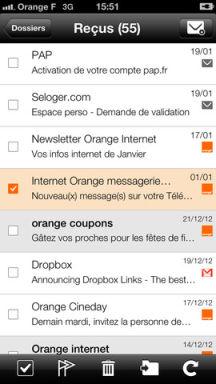 Mail Orange Lapplication gratuite du jour : Mail Orange