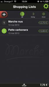 Marche 169x300 Test de Marché grocery list (0,89€): faites vos courses sereinement