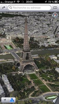 Plans Paris 3D Plans : des nouvelles villes en FlyOver