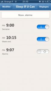 Sleep if you can 31 169x300 Test de Sleep if you can (1,79€) : fini les pannes de réveil