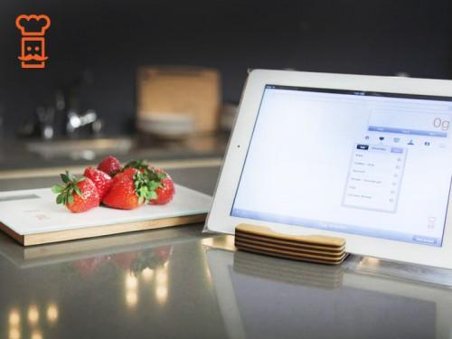 Smart Food Scale 1 500x375 Accessoire : Smart Food Scale (69$), une balance à votre écoute