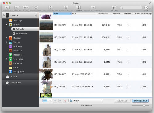 Test Diskaid 3 500x366 Concours App4Mac: Diskaid, un utilitaire complémentaire à iTunes? (29,90$ ~ 23€)