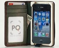 Test LittlePocketBook 0011 Test de létui Little Pocket Book (46€) pour iPhone de Pad&Quill